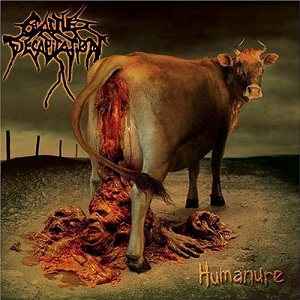 Cattle Decapitation - Humanure - Brown-red LP