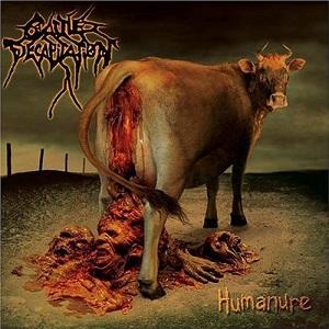 Cattle Decapitation - Humanure - Brun-röd LP