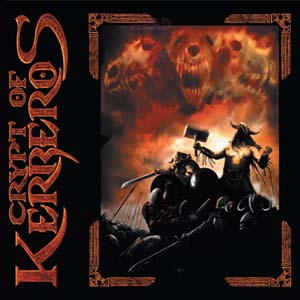 Crypt Of Kerberos - Into The Ruins - Splatter 7