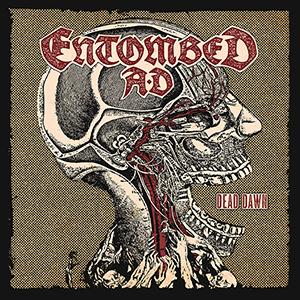 Entombed AD - Dead Dawn - Vit LP - SoR exklusiv