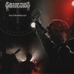 Dissection - Live In Stockholm 2004 - Röd LP