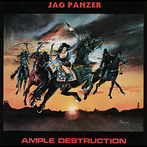 Jag Panzer - Ample Destruction - Splatter LP