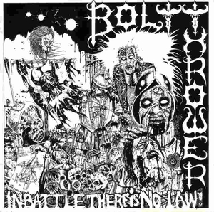 Bolt Thrower - In Battle There Is No Law - Grå LP