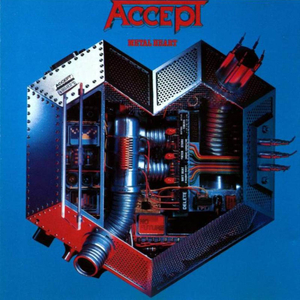 Accept - Metal Heart - Blue LP