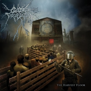 Cattle Decapitation - The Harvest Floor - Blå-Grå LP