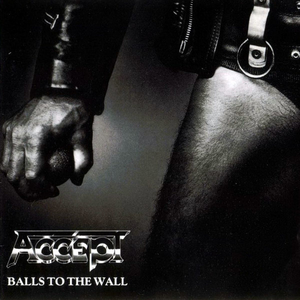 Accept - Balls To The Wall - Vit LP