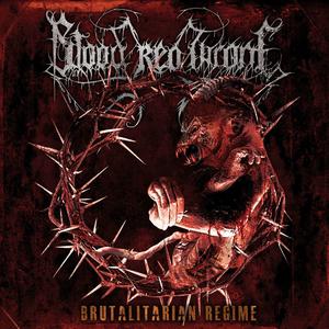 Blood Red Throne - Brutalitarian Regime - Orange LP