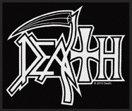 Death - Logo - patch