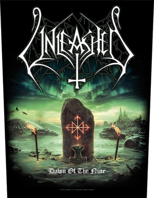 Unleashed - Dawn Of The Nine - backpatch