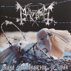 Mayhem - Grand Declaration Of War - Splatter LP