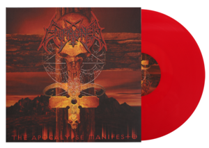 Enthroned - The Apocalypse Manifesto - Röd LP