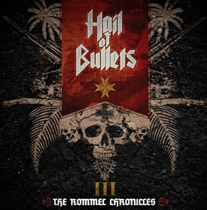Hail Of Bullets - III - The Rommel Chronicles - Sand-färgad LP