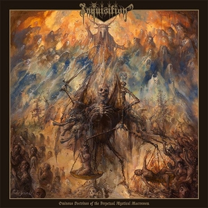 Inquisition - Ominous Doctrines Of The Perpetual Mystical Macrocosm - Grå LP