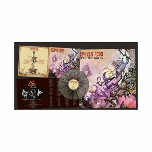 Manilla Road - Open The Gates - Splatter LP seamsplit