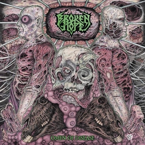 Broken Hope - Omen Of Disease - LP-CD