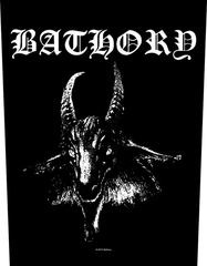 Bathory - Goat - backpatch