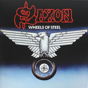 Saxon - Wheels Of Steel - Grey LP