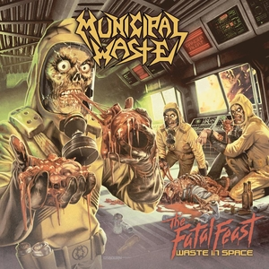 Municipal Waste - The Fatal Feast - Clear LP seamsplit