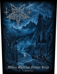 Dark Funeral - Where Shadows Forever Reign - backpatch