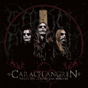 Carach Angren - Where The Corpses Sink Forever - Röd LP