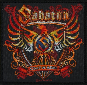 Sabaton - Coat Of Arms - patch