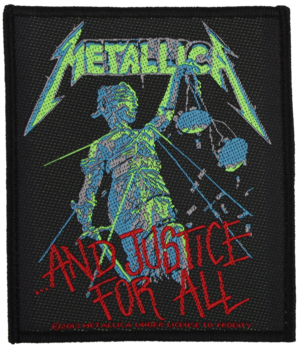 Metallica - ... And Justice For All - patch