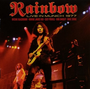 Rainbow - Live In Munich 1977 - Röd LP