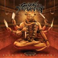 Cattle Decapitation - Karma Bloody Karma - Orange-röd LP