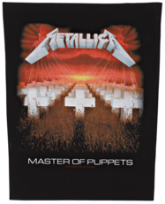 Metallica - Master Of Puppets - backpatch