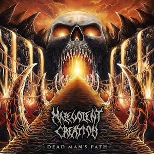 Malevolent Creation - Dead Mans Path LP-CD