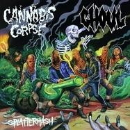 Ghoul / Cannabis Corpse - Splatterhash - Orange LP