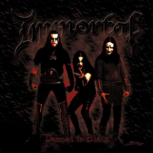 Immortal - Damned In Black - LP