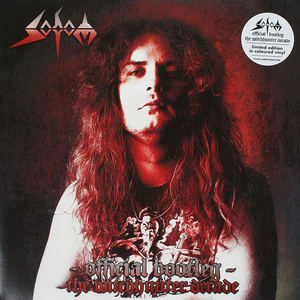 Sodom - Official Bootleg - The Witchhunter Decade - Röd LP