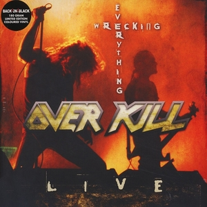 Overkill - Wrecking Everything - Red LP