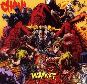 Ghoul - Maniaxe - Blå LP