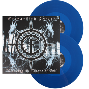 Carpathian Forest - Defending The Throne Of Evil - Blue LP