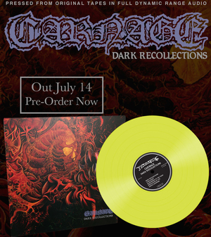 Carnage - Dark Recollections - Yellow LP