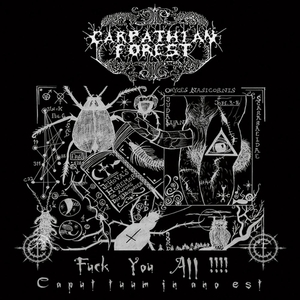 Carpathian Forest - Fuck You All - Grå LP