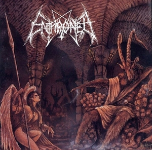 Enthroned - Towards The Skullthrone Of Satan - Grå LP