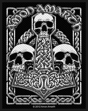 Amon Amarth - Three Skulls - patch