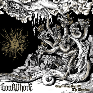 Goatwhore - Constricting Rage Of The Merciless - Gold-black LP
