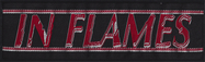 In Flames - Logo - patch