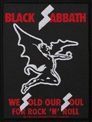 Black Sabbath - We Sold Our Soul - patch