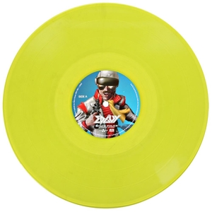 Edguy - Space Police - Yellow LP