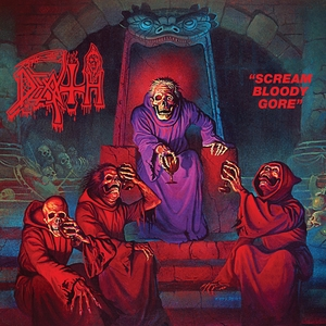 Death - Scream Bloody Gore - Blå LP