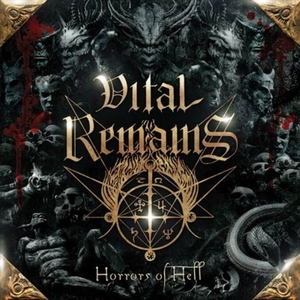Vital Remains - Horrors Of Hell - Gold LP