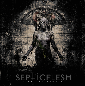 Septicflesh - A Fallen Temple - Clear LP