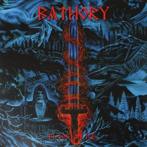 Bathory - Blood On Ice - Röd LP
