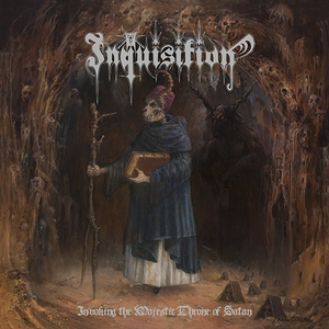 Inquisition - Invoking The Majestic Throne Of Satan - Vit LP