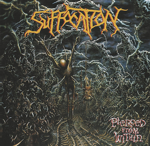Suffocation - Pierced From Within - Orange LP